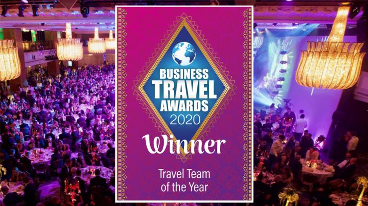 Business Travel Awards Travel Team of the Year