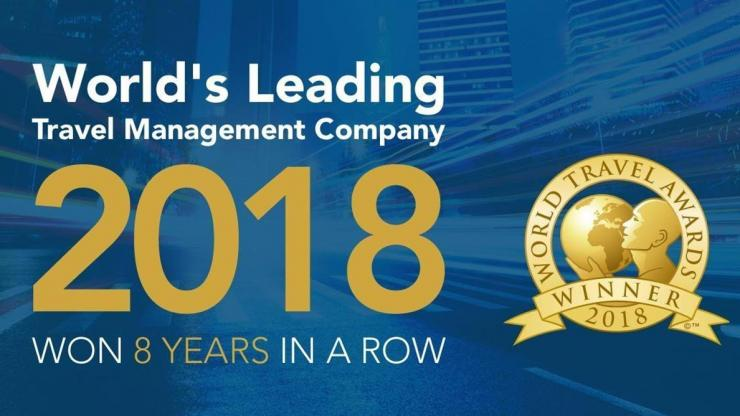 FCM wins World's Leading Travel Management Company 2018