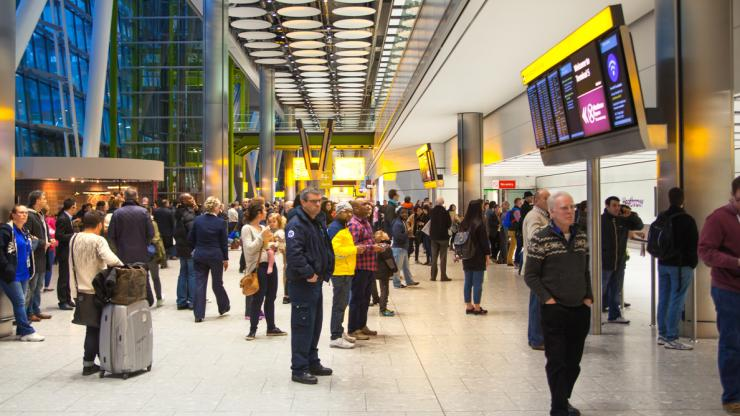 Heathrow airport cancellations and delays
