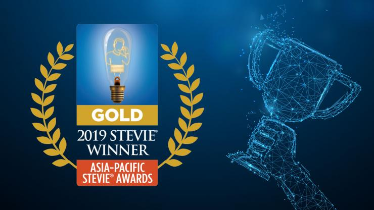 FCM wins Gold Award in Asia-Pacific Stevie Awards 2019