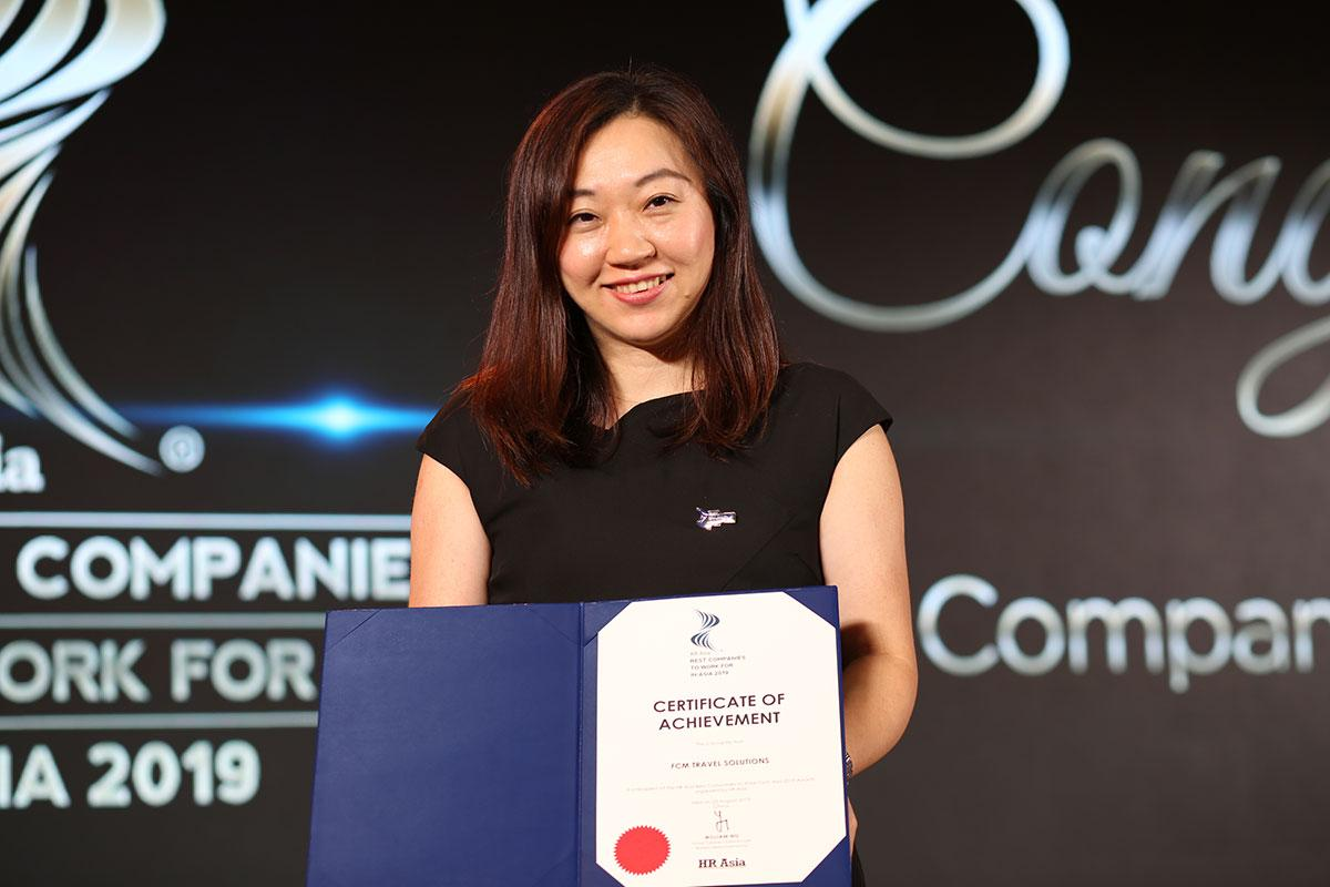 FCM recognised as Best Company to Work For in Asia