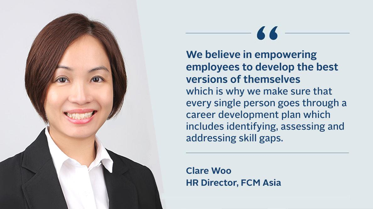 Interview with Clare Woo, HR Director for FCM Asia